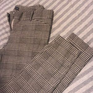 The Limited Ideal Stretch Plaid Pant